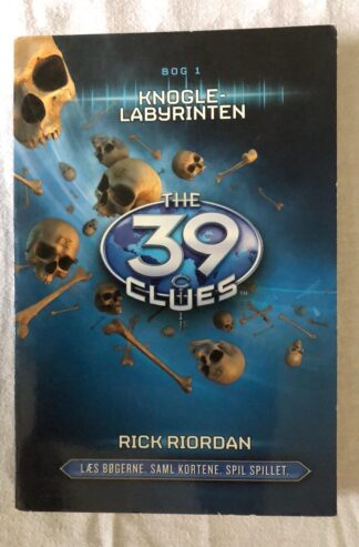 Knogle Labyrinten - The 39 Clues (Rick Riordan) Papperback