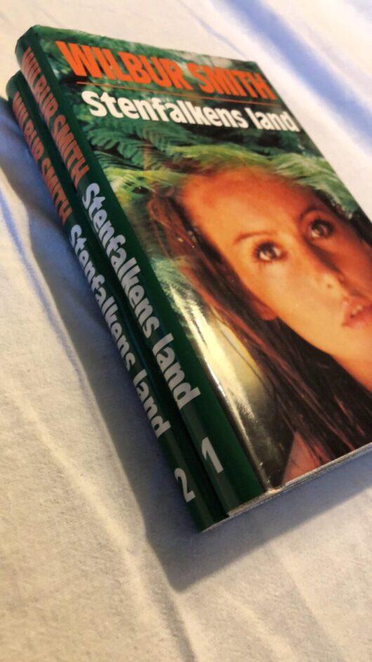 Stenfalkens land del 1 & del 2 (Wilbur Smith) Hardcover 1