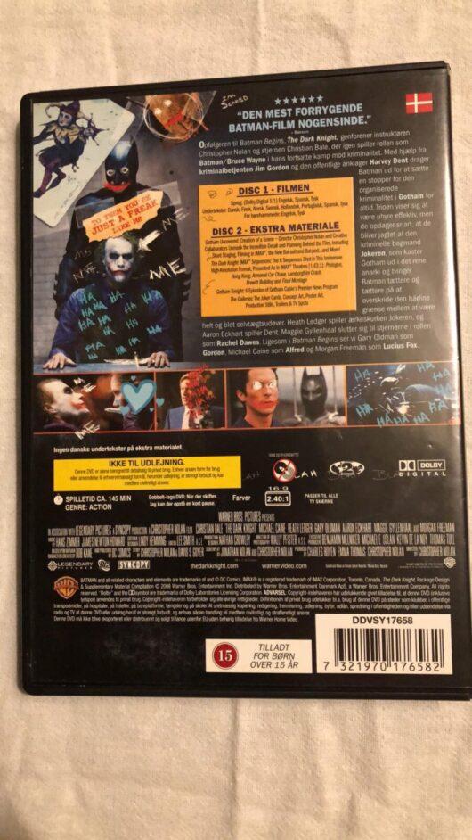 The Dark Knight - 2 Disk Special Editon (DVD) 1