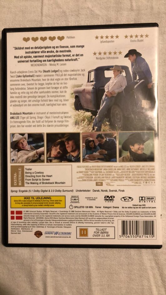 Brokenback Mountain (DVD)1