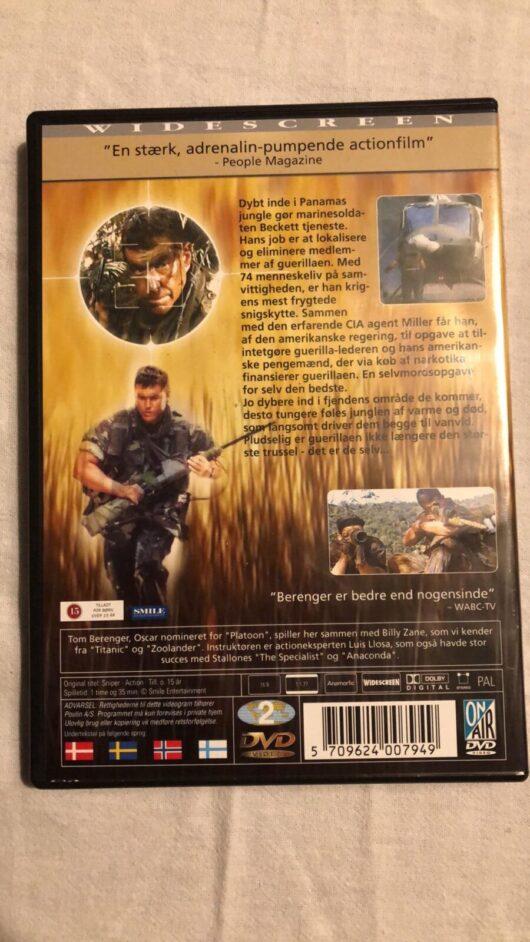 Snigskytten (Tom Berenger) DVD 1