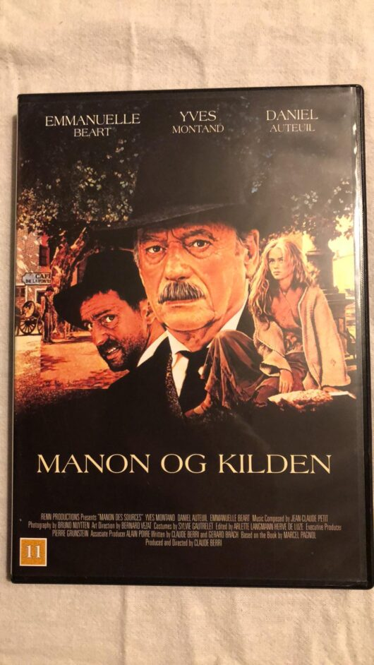 Manon Og Kilden (DVD)