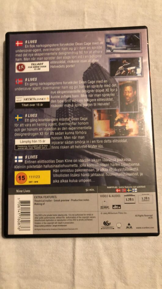 Nine Lives (DVD) 1