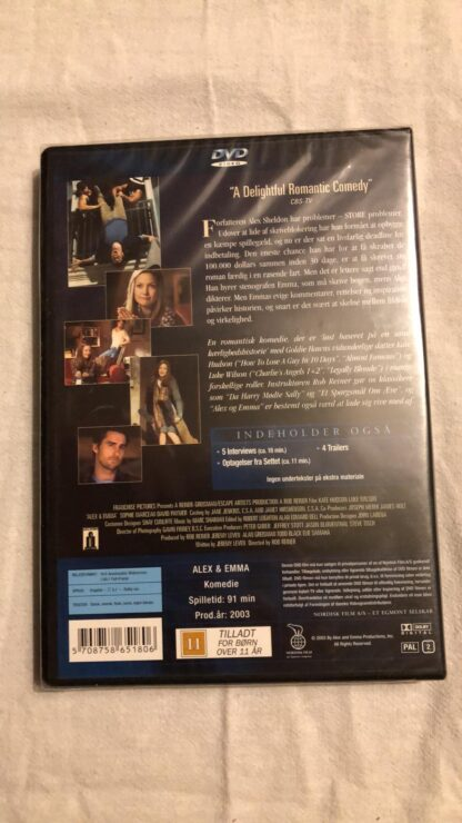 Alex & Emma (DVD) 1