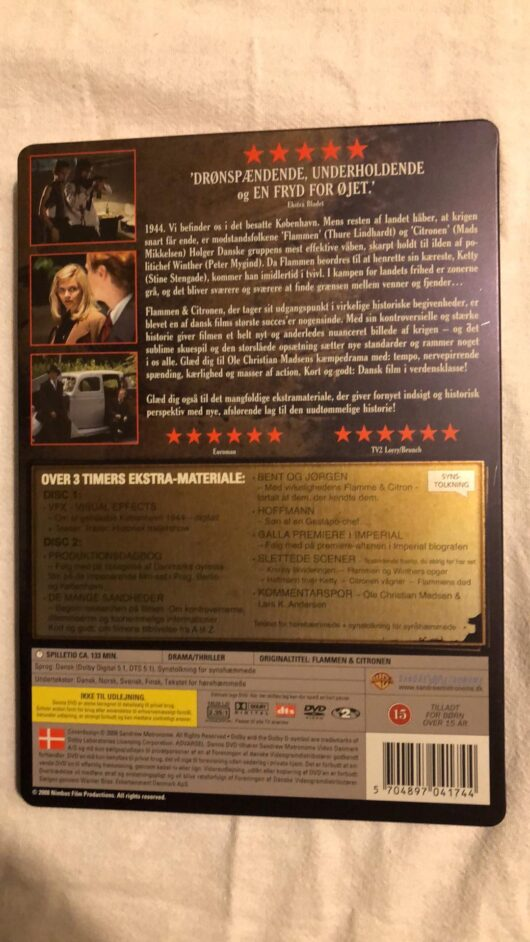 Flammen & Citronen (DVD) 1