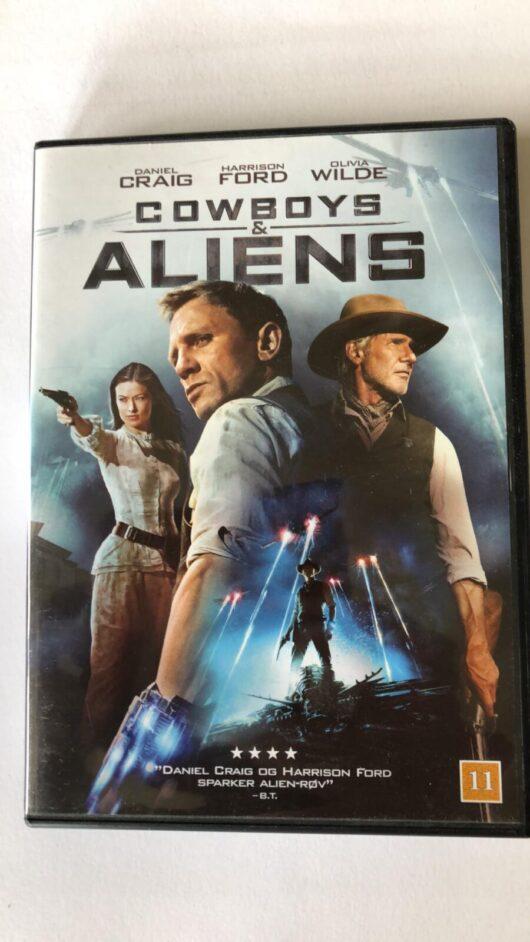 produkt billede - Cowboy & aliens - www.laesehesten-silkeborg.dk