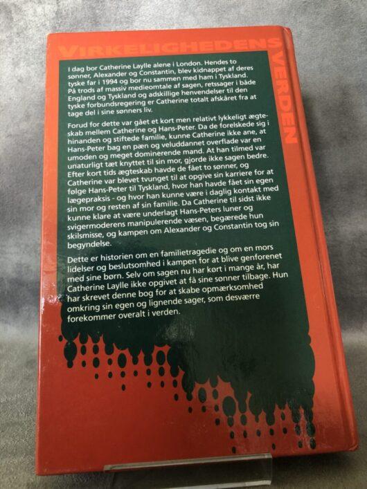 produkt billede bagside Bortført - www.laesehesten-silkeborg.dk